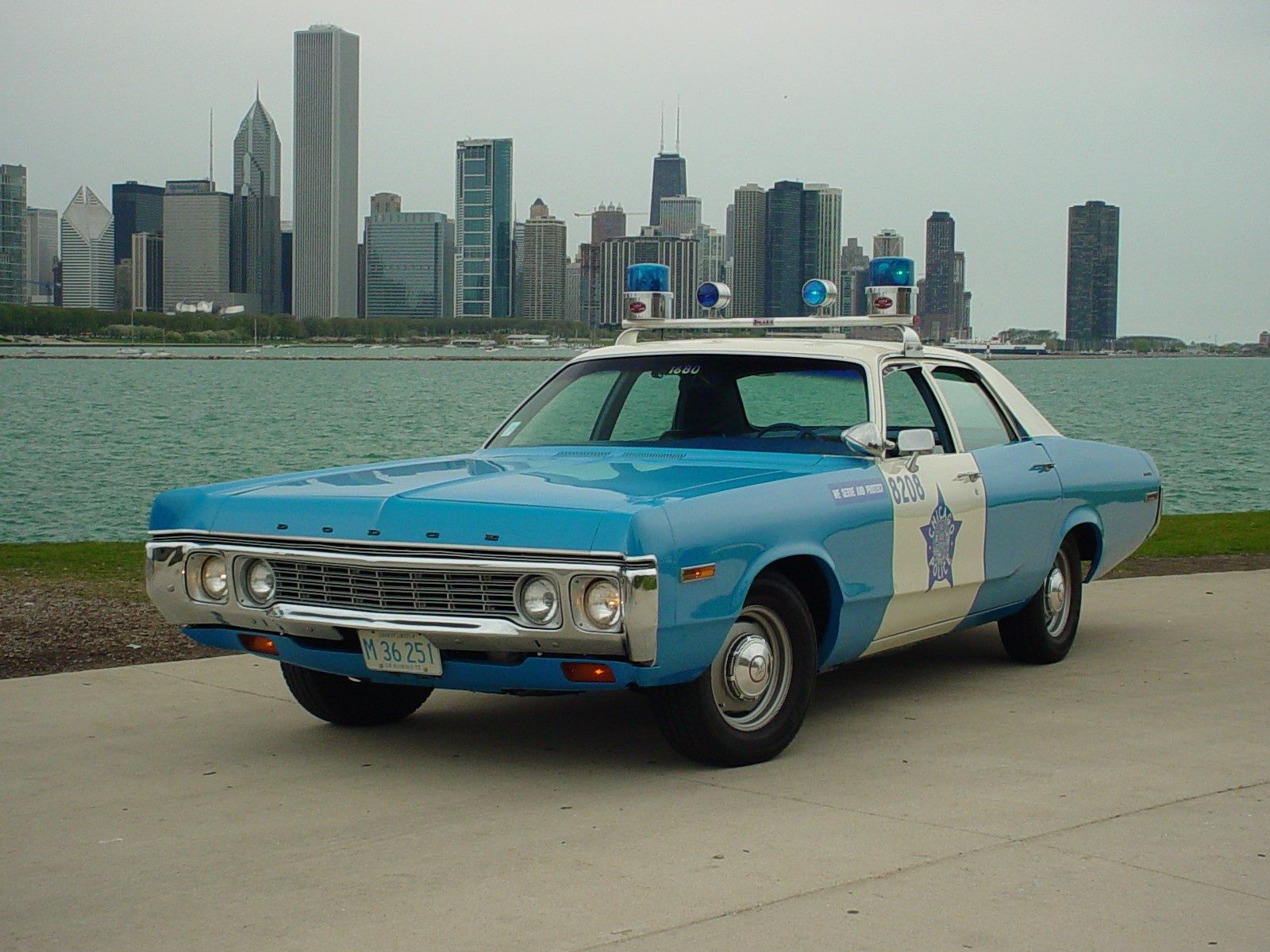 Police car 8208