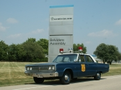 Police car Belvidere