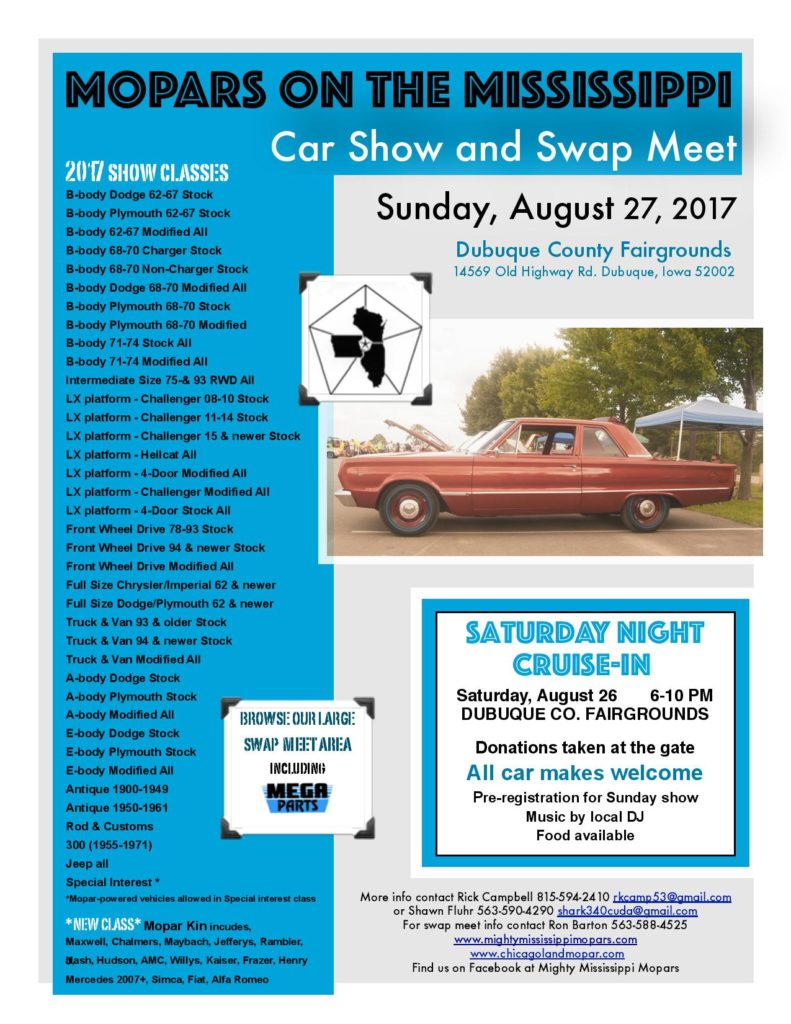 2017 WIL car show flier back-page-001